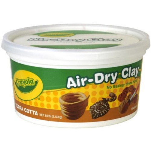 Crayola Terra Cotta Air Dry Clay 2.5 lb Bucket(Discontinued by manufacturer)
