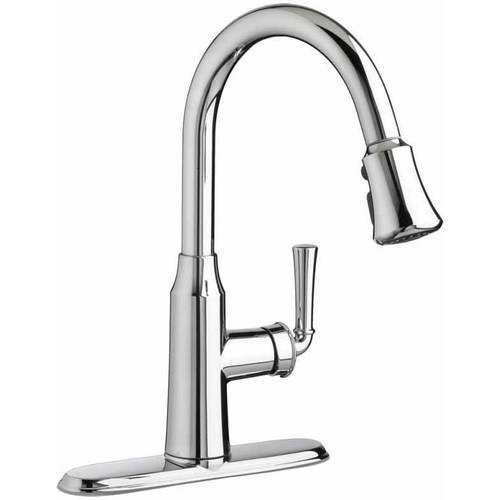 American Standard 4285.300.002 Portsmouth Pull-Down 1.8 GPM Kitchen Faucet, Available in Various Colors