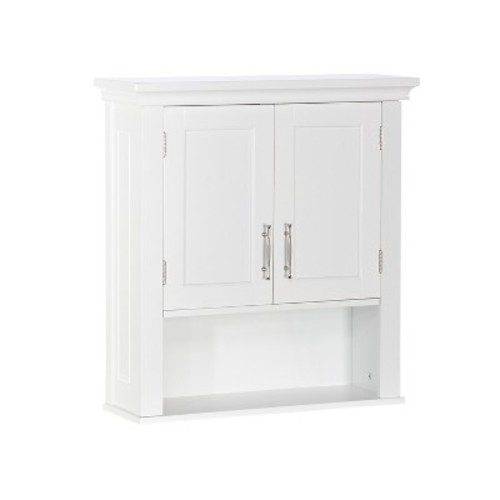 RiverRidge Somerset Collection 2-Door Wall Cabinet - White