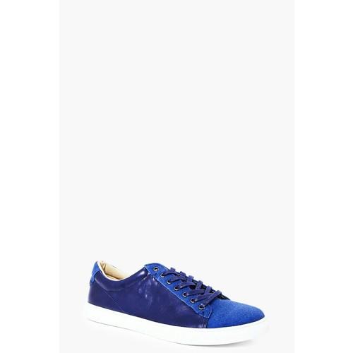 Denim Blue Lace Up Trainer