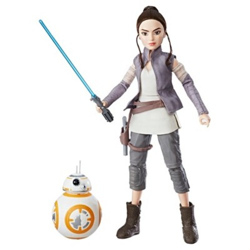 Star Wars Forces of Destiny Rey of Jakku and BB-8 Adventure Set