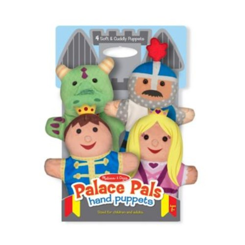 Melissa and Doug Palace Pals Hand Puppets (Set of 4)
