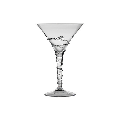 Amalia Martini Glass, Clear