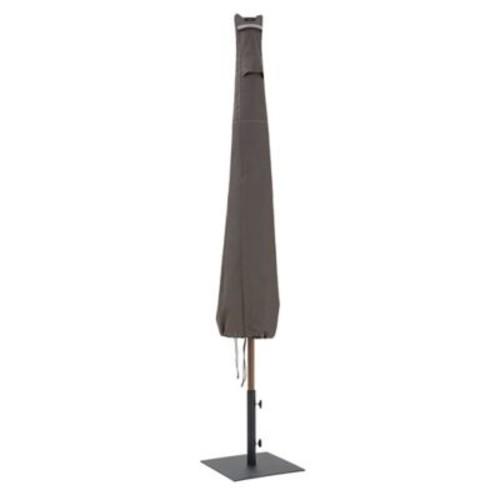 Classic Accessories Ravenna Patio Umbrella Cover, Dark Taupe