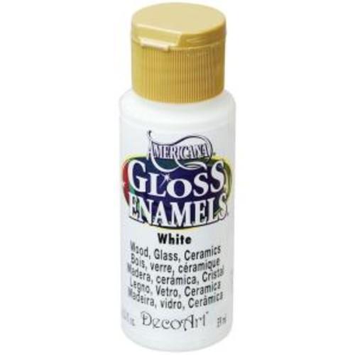 Americana 2 oz. White Gloss Enamel Paint