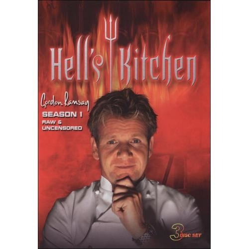 Hell's Kitchen: Season 1 [3 Discs] [DVD]