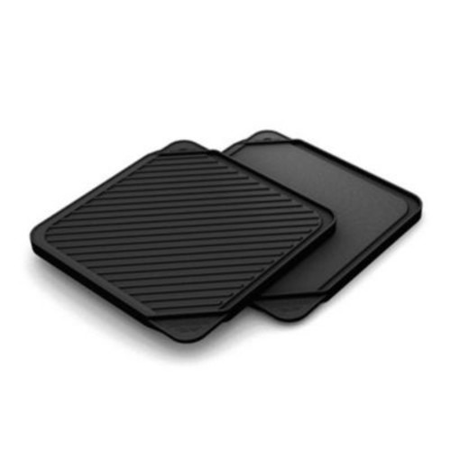 Chef's Design 11'' Non-Stick Reversible Grill Pan and Griddle