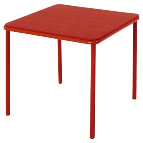 Cosco Home and Office Products Blue Kid's Vinyl Top Table