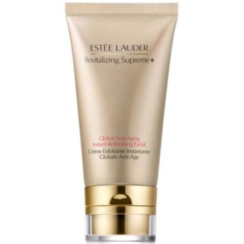 Este Lauder Revitalizing Supreme+ Global Anti-Aging Instant Refinishing Facial, 2.5-oz.