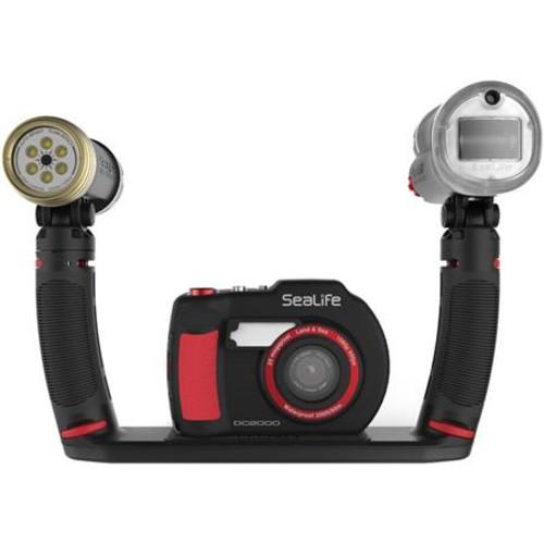 SeaLife DC2000 Pro Duo Set w/DC2000 UW Camera Sea Dragon Digital UW & 2300 Heads