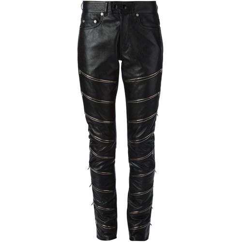 SAINT LAURENT Zip Detail Trousers