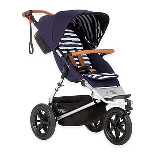 Mountain Buggy Urban Jungle Luxury Collection Stroller in Nautical