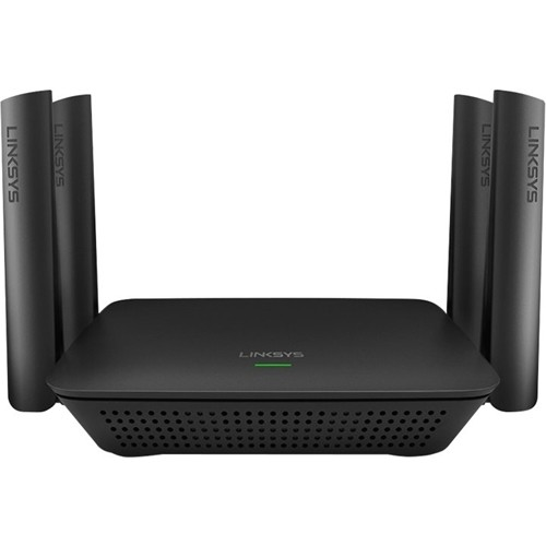 Linksys - RE9000 AC3000 MU-MIMO Wi-Fi Range Extender - Black