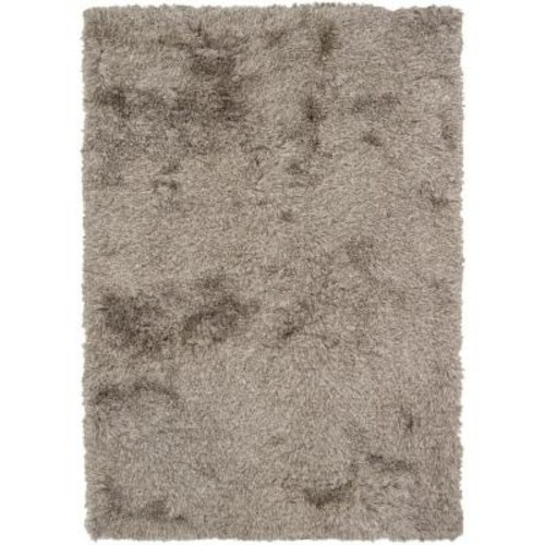 Chandra Vani Charcoal/Ivory 7 ft. 9 in. x 10 ft. 6 in. Indoor Area Rug
