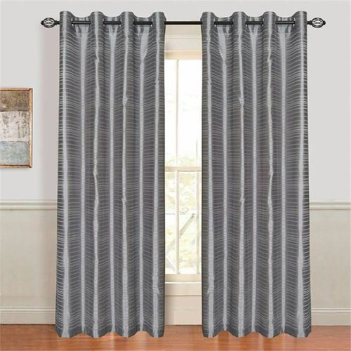 Lavish Home Maggie Grommet Curtain Panel