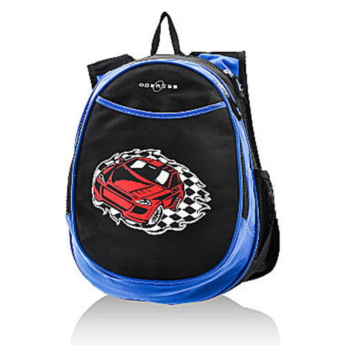 OBERSEE Kids All-In-One Backpack With Cooler - Racecar