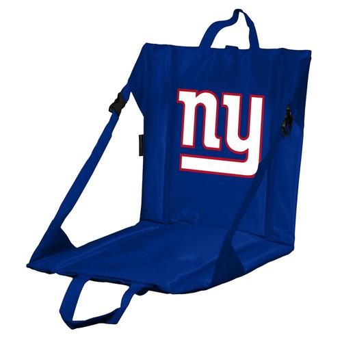 Logo Brands New York Giants Folding Stadium Seat