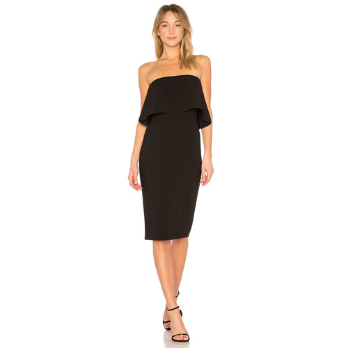 LIKELY Driggs Dress in Black
