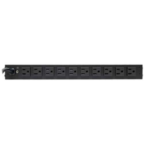 CyberPower RKBS15S2F10R 15A 12-Outlet 1U RM Rackbar Surge Suppressor