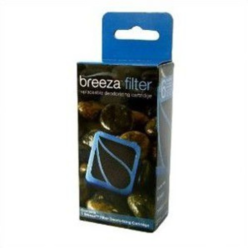 Brondell Breeza Deodorizing Replacement Carbon Filter; Eight Cartridges