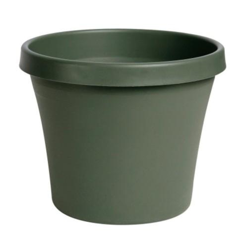 Bloem Terrapot Thyme Green Resin Traditional Planter 14.2 in. H x 16 in. W(50416)