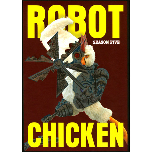 Robot Chicken: Season Five [2 Discs] [DVD]