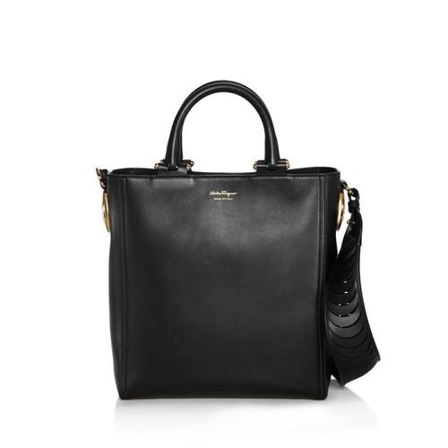 SALVATORE FERRAGAMO Paola Leather Shoulder Bag