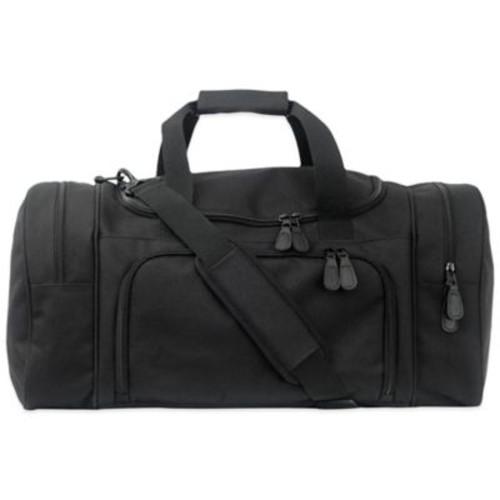 Mercury Luggage/Seward Trunk Code Alpha Executive Series Small Duffle in Black