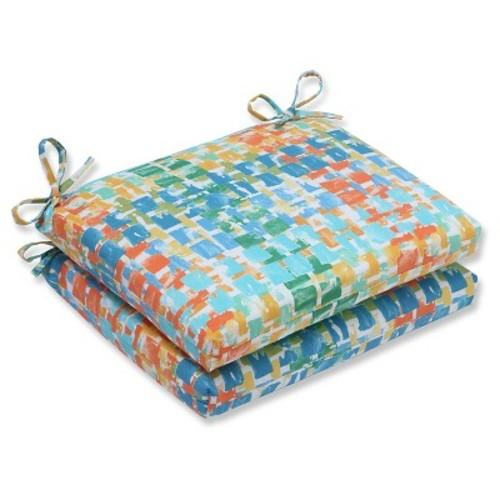Pillow Perfect Quibble Sunsplash Outdoor Cushion Set - Blue