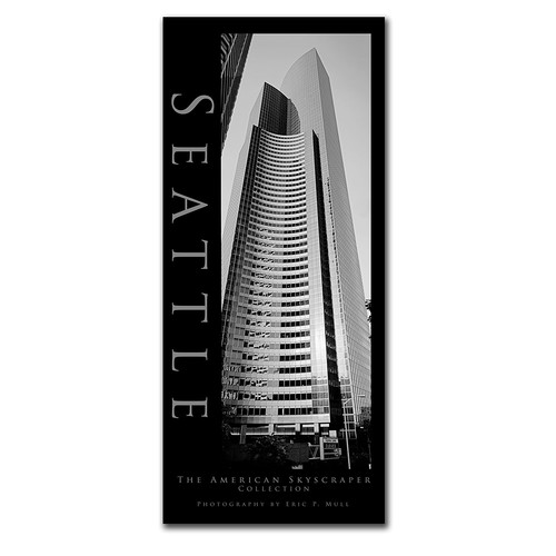 Seattle II by Preston, 10x24-Inch Canvas Wall Art [10 by 24-Inch]