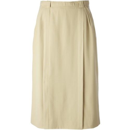 CÉLINE VINTAGE A-Line Skirt