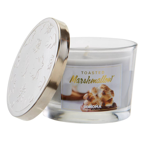 SONOMA Goods for Life 5-oz. Toasted Marshmallow Candle Jar