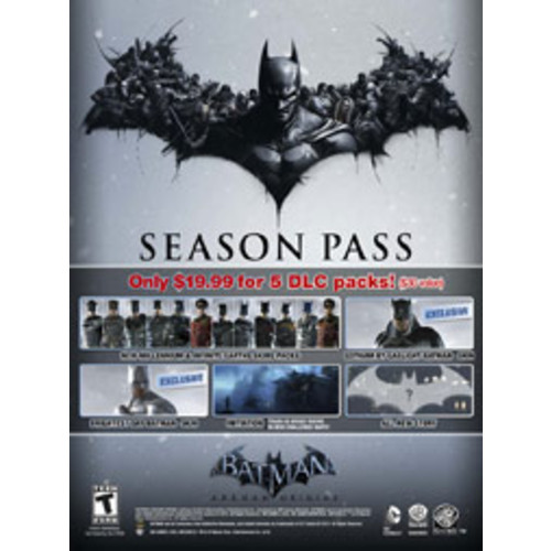 Batman Arkham Origins Season Pass [Digital]