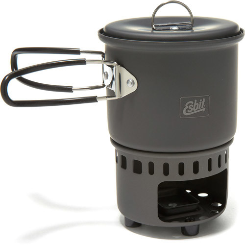 Solid Fuel Stove and Cookset