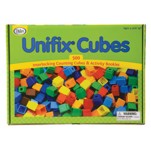 Didax Unifix Cubes 500 Asstd Colors