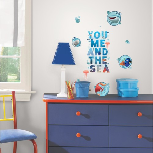 RoomMates Finding Dory and Friends Peel and Stick Wall Decals