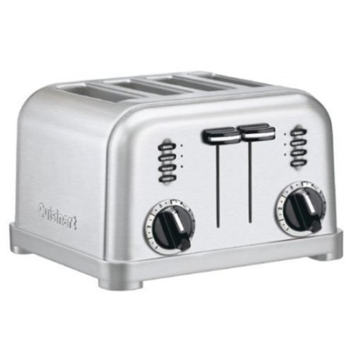 Cuisinart Metallic Temperature Control Toaster Brushed(CPT-180)