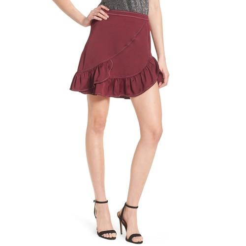 Brielle Ruffle Miniskirt