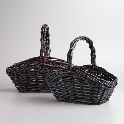 Brown Rectangular Jamie Baskets