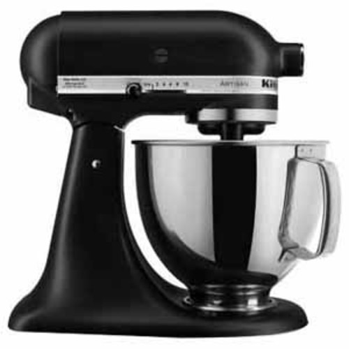 Kitchenaid Artisan Series 5 Quart Tilt-Head Stand Mixer - Black Matte