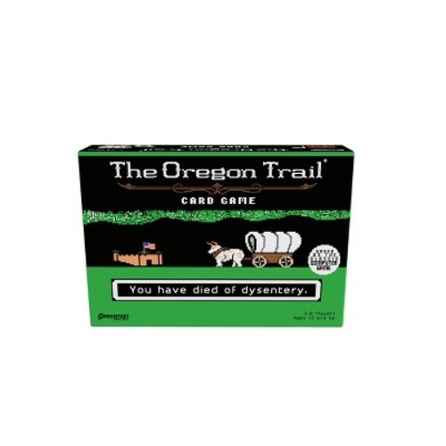 The Oregon Trail Card Game by Pressman Toy