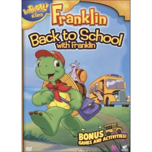 Franklin:Back to school with franklin (DVD)
