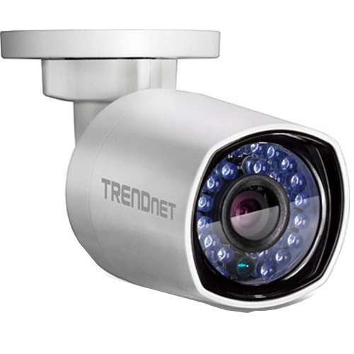 TRENDnet Indoor/Outdoor 4MP POE Day/Night Network Camera - HD resolution, Night Vision Up to 100ft, IP66 Weather Rated Housing, Save installation costs w/PoE, ONVIF & IPv6 support - (TV-IP314PI)