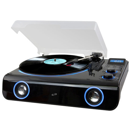 iLive - Bluetooth Turntable - Black/Blue