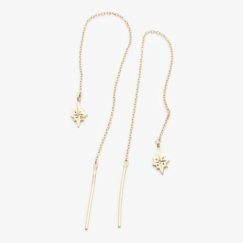 Scosha Nova Thread Through Earring Diamond, G