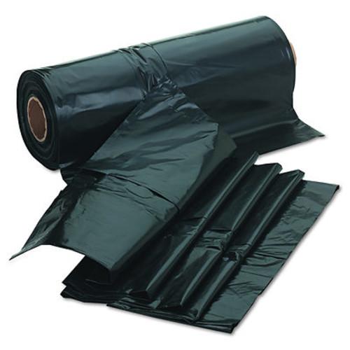 Jaguar Plastics Industrial 2.7mil Drum Liner Bags, 60 Gallon Capacity, 1 Roll of 50 per Carton - Black