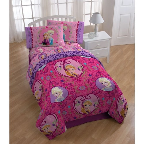 Disney Frozen Friendship Twin 5-piece Bedding Set