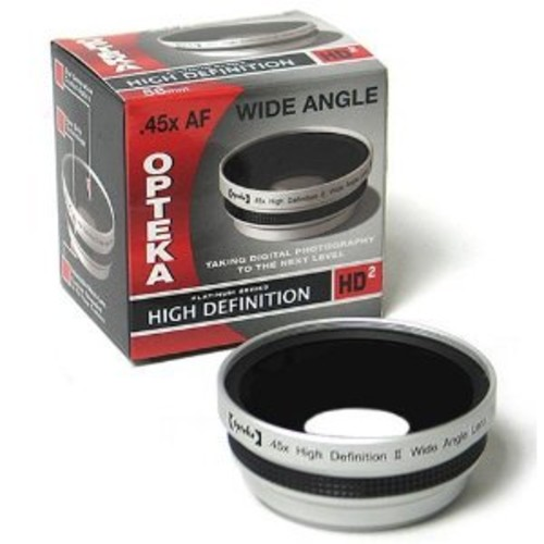 Opteka 0.45x HD2 Wide Angle Lens for Kodak Z760 DX7630