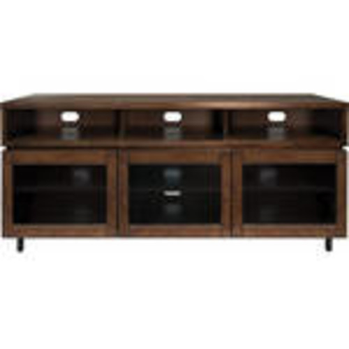 PR45 Cocoa Finish Wood Home Entertainment Cabinet
