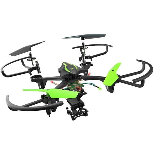 Sky Viper DIY E1700 Remote Control Stunt Drone Kit - Black/Green